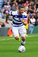 Queens Park Rangers striker Conor Washington (9) during the EFL Sky Bet Championship match between Queens Park Rangers and Burton Albion at the Loftus Road Stadium, London, England on 23 September 2017. Photo by Richard Holmes.
