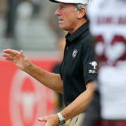 South Carolina Gamecocks head coach Steve Spurrier during an NCAA football game between the South Carolina Gamecocks and the Central Florida Knights at Bright House Networks Stadium on Saturday, September 28, 2013 in Orlando, Florida. (AP Photo/Alex Menendez)