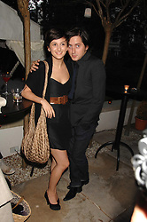 Musician CARL BARAT and ANNALISA ASTARITA at a party to celebrate Le Touessrok a luxury resort in Mauritius, held at The Hempel, 31-35 Craven Hill Gardens, London W2 on 12th June 2007.<br /><br />NON EXCLUSIVE - WORLD RIGHTS