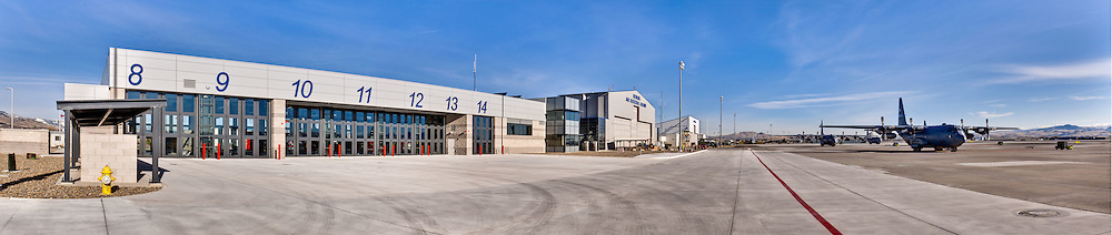 Nevada Air National Guard Fire Station for Burns and McDonnel Architects and H+K Architects, Reno, Nv