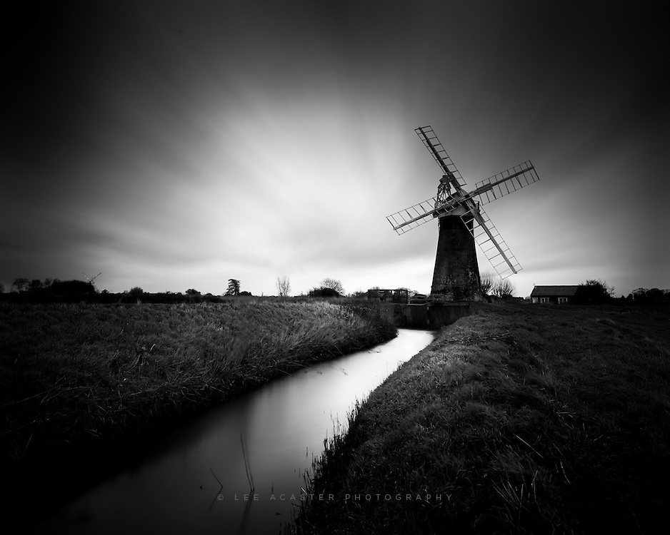 Long Exposure at St. Benet's Windpump just along from Thurne.