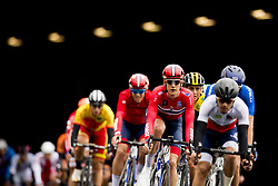 September 22, 2017 - Bergen, NORWAY - 170922 Ole Forfang of Norway compete during the Men Under 23 Road Race on September 22, 2017 in Bergen..Photo: Vegard Wivestad GrÂ¿tt / BILDBYRN / kod VG / 170024 (Credit Image: © Vegard Wivestad Gr¯Tt/Bildbyran via ZUMA Wire)
