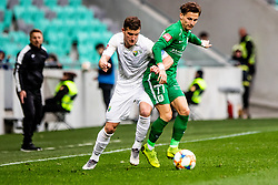 Savic Stefan of NK Olimpija Ljubljana vs during football match between NK Olimpija Ljubljana and NK Rudar Velenje in 25rd Round of Prva liga Telekom Slovenije 2018/19, on April 7th, 2019 in Stadium Stozice, Slovenia Photo by Matic Ritonja / Sportida