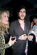 PIPPA HOLT; OSCAR HUMPHRIES,  Prada Congo Art Party hosted by Miuccia Pada and Larry Gagosian. The Double Club,  Torrens St. London EC1. The Double Club is A Carsten Holler project by Fondazione Prada. 10 February 2009. *** Local Caption *** -DO NOT ARCHIVE-© Copyright Photograph by Dafydd Jones. 248 Clapham Rd. London SW9 0PZ. Tel 0207 820 0771. www.dafjones.com.<br /> PIPPA HOLT; OSCAR HUMPHRIES,  Prada Congo Art Party hosted by Miuccia Pada and Larry Gagosian. The Double Club,  Torrens St. London EC1. The Double Club is A Carsten Holler project by Fondazione Prada. 10 February 2009.