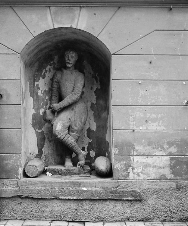 Male sculpture, Klagenfurt, Austria, 1937