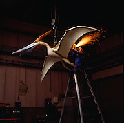 Founded in 1969 Kokoro Company created the first mechanical dinosaur models which are distributed throughout the world.  This is a Pterosaur.