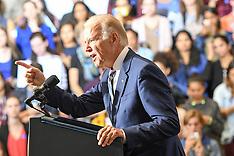Pennsylvania: Vice President Joe Biden Campaigns For Hillary Clinton, 27 Sep 2016