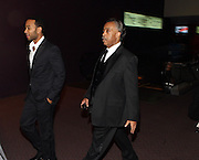 """15 November 2010- New York, NY- l to r: John Legend and Rev. Al Sharpton at The National Action Network's 1st Annual Triumph Awards honoring """"Our Best"""" in the Arts, Entertainment, & Sports held at Jazz at Lincoln Center on November 15, 2010 in New York City. Photo Credit: Terrence Jennings"""