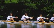 Lucerne, SWITZERLAND.  [RDA] DDR W4+, WALTHER, Martina<br /> DOBERSCHUETZ-MEY, Gerlinde<br /> SIECH, Birte<br /> HORNIG-MIESELER, Carola<br /> MUELLER-ROSE, Sylvia,<br /> 1988  Lucerne International Regatta, Lake Rotsee. June 1988 [Mandatory Credit - Peter Spurrier/Intersport Images] 1988 Lucerne International Regatta