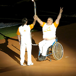 Athens, Greece  17SEP04: Opening Ceremony of the Athens 2004 Paralympic Games at Olympic Stadium.  ©Bob Daemmrich