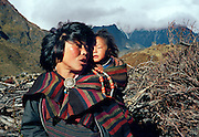 Thanza Village, Lunana Region, Snowman Trek, Bhutan.
