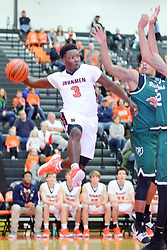 15 December 2017: Boys Basketball game between the Peoria Richwoods Knights and the Normal Community Ironmen at NCHS in Normal