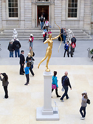 Sculptures in the Charles Engelhard Court  at Metropolitan Museum of Art in Manhattan , New York City, USA