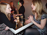 LUCY SHAW; SUZANNAH RAMSDALE, Coquine  launch. 160 old brompton rd. South Kensington. London. SW5  30 March 2010.