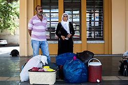 Mehmet Sirin and his wife Belkize are going to Cetinkaya District of Sivas to work as a farm laborer. July 24, 2016.<br /> The Southern Kurtalan Train Express route, starting from Kurtalan, stops in Diyarbakir, Malatya, Sivas, Kayseri and Ankara from summer to fall. This train route is mostly used by seasonal workers that are living in east Turkey, but are working on the western part of the country from spring to fall. Photo by Aylin Kizil/NARphotos/ABACAPRESS.COM