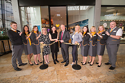 The Official Opening of Thomas Cook Glasgow Silverburn. Officially opened with a ribbon cutting by Chris Mottershead – Managing Director of Thomas Cook UK, Kathryn Darbandi - Director of Retail and Customer Experience for Thomas Cook UK, as well as the Store Manager Fraser Hopkins.
