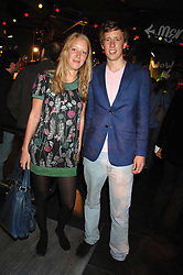 ALICE ROTHSCHILD and GEORGE FROST son of Sir David Frost at the launch of the Desigual flagship store at 222 Regent Street, London W1 on 28th June 2007.<br /><br />NON EXCLUSIVE - WORLD RIGHTS