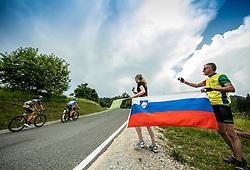 Matic Groselj (SLO) of Ljubljana Gusto Santic during 1st Stage of 26th Tour of Slovenia 2019 cycling race between Ljubljana and Rogaska Slatina (171 km), on June 19, 2019 in  Slovenia. Photo by Vid Ponikvar / Sportida