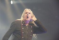 September 29, 2018 - Stockholm, Sweden - Biff Byford..Saxon in concert, Fryshuset, Stockholm, 2018-09-29..(c) Helena Larsson / IBL Bildbyrà (Credit Image: © Helena Larsson/IBL via ZUMA Press)