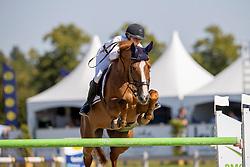 Bongers Lisa, NED, Donbalian<br /> Nederlands Kampioenschap Springen<br /> De Peelbergen - Kronenberg 2020<br /> © Hippo Foto - Dirk Caremans<br />  06/08/2020