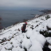 Salomon Hammer Trail Winter Edition 2014.  Bornholm, Denmark.