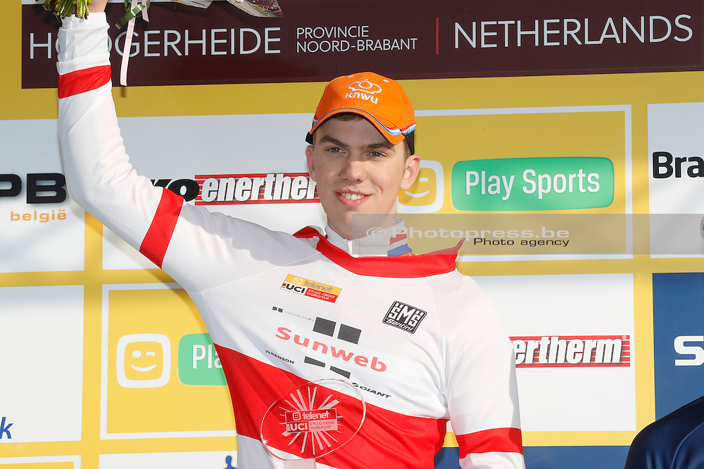 HOLLAND / THE NETHERLANDS / NEDERLAND / CYCLING / CYCLOCROSS / VELDRIJDEN / RADQUER / WORLD CUP #8 / WERELDBEKER #8 / COUPE DU MONDE #8 / GP ADRIE VAN DER POEL / NIEUWENHUIS JORIS /