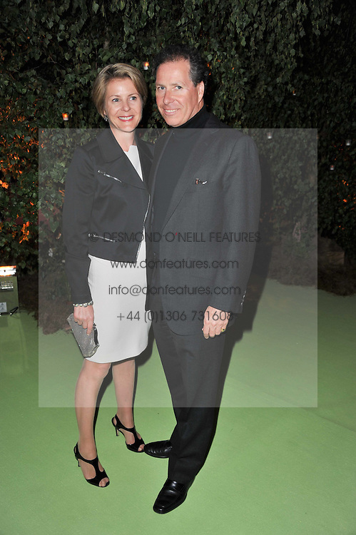 VISCOUNT & VISCOUNTESS LINLEY at a dinner hosted by Cartier in celebration of the Chelsea Flower Show held at Battersea Power Station, 188 Kirtling Street, London SW8 on 23rd May 2011.