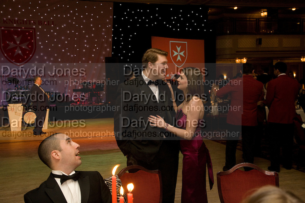 ROBIN HARTLING; CLAIRE SINGLETON, The 30th White Knights charity  Ball.  Grosvenor House Hotel. Park Lane. London. 10 January 2009 *** Local Caption *** -DO NOT ARCHIVE-© Copyright Photograph by Dafydd Jones. 248 Clapham Rd. London SW9 0PZ. Tel 0207 820 0771. www.dafjones.com.<br /> ROBIN HARTLING; CLAIRE SINGLETON, The 30th White Knights charity  Ball.  Grosvenor House Hotel. Park Lane. London. 10 January 2009