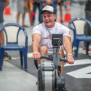 Ross Gilray MALE HEAVYWEIGHT Masters C 500mtr Race #18  01:30pm <br /> <br /> www.rowingcelebration.com Competing on Concept 2 ergometers at the 2018 NZ Indoor Rowing Championships. Avanti Drome, Cambridge,  Saturday 24 November 2018 © Copyright photo Steve McArthur / @RowingCelebration