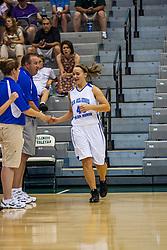 20 June 2009: Kelsey Sauder.  Illinois Basketball Coaches Association 1A-2A Girls All Star game.