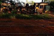 Porto Velho_RO, Brasil.<br /> <br /> Cemiterio de locomotivas em Porto Velho.<br /> <br /> Locomotives Cemetery in Porto Velho.<br /> <br /> Foto: MARCUS DESIMONI / NITRO