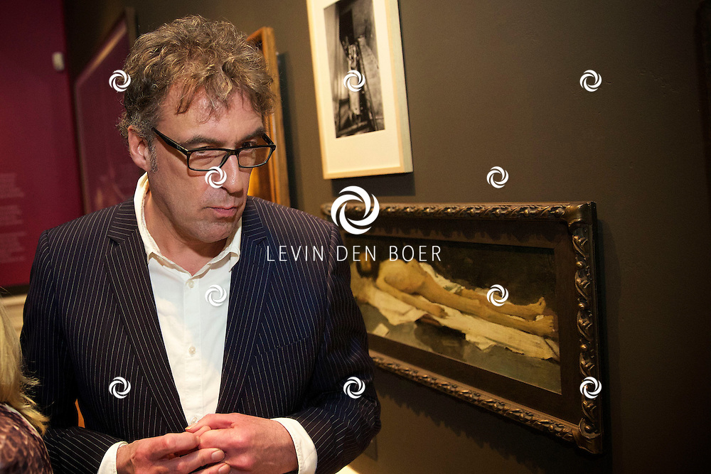 AMSTERDAM - Joost Zwagerman tijdens de opening van de DWDD Museum. FOTO LEVIN DEN BOER - KWALITEITFOTO.NL