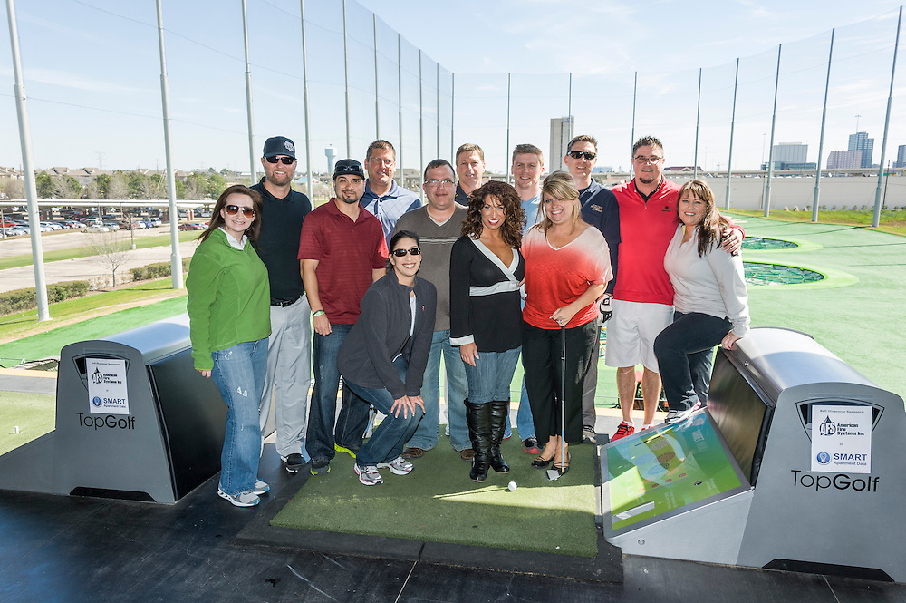 Photograph from the 2013 HAA Spring Political Action Committee Fundraiser held at Top Golf on February 26, 2013.