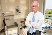 Donald M. Miller, MD, PhD, photographed Monday, Sep. 28, 2015, at the KentuckyOne Health Medical Center Jewish Northeast in Louisville, Ky.