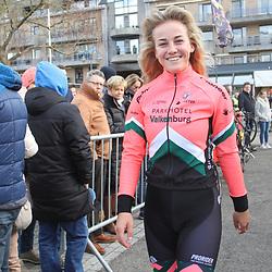 01-03-2020: Wielrennen: Hageland vrouwen: Tielt-Winge: Marit Raaijmakers