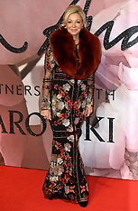 London - Fashion Awards 2016 - 05 Dec 2016