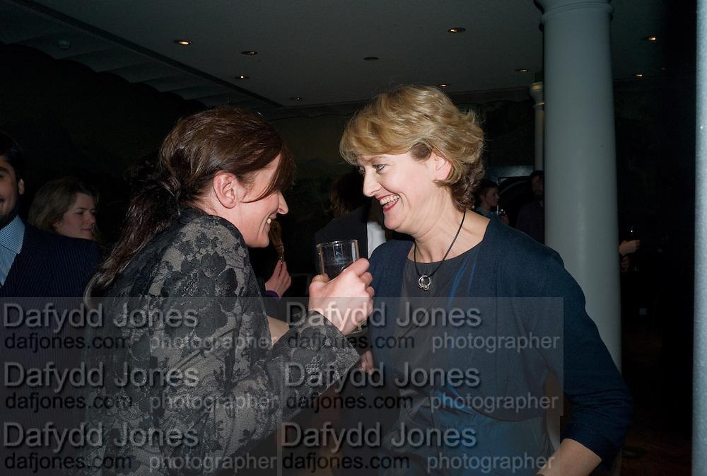 GOSHKA MACUGA;  JUDITH NESBITT, 2008 Turner Prize Award. Tate Millbank. London. 1 December 2008 *** Local Caption *** -DO NOT ARCHIVE -Copyright Photograph by Dafydd Jones. 248 Clapham Rd. London SW9 0PZ. Tel 0207 820 0771. www.dafjones.com