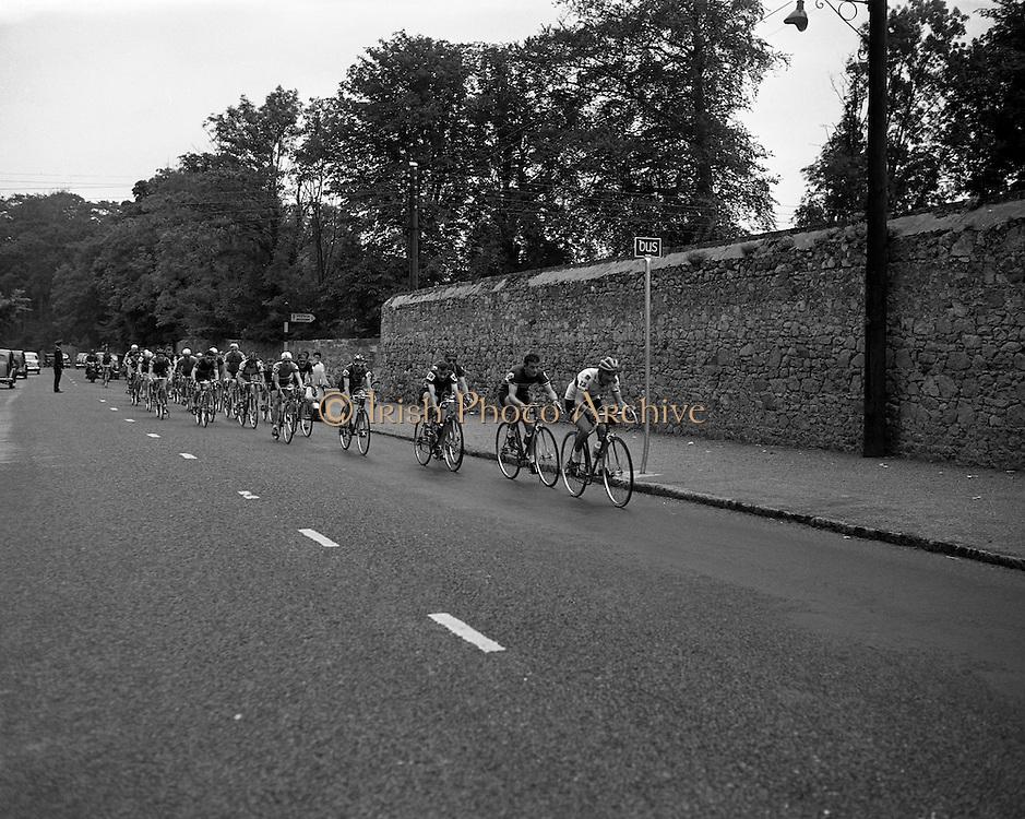 Start of Ras Tailteann at GPO.04/08/1957