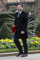 © Licensed to London News Pictures. 10/03/2015. London, UK. Stephen Crabb arrives for a cabinet meeting at 10 Downing Street in London on Tuesday 10th March 2015. Photo credit : Vickie Flores/LNP