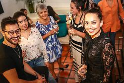 """PORTO ALEGRE, RS, BRASIL, 08-11-2017, 21h32'07"""":  Exposição do projeto Photo-Graphia - que mistura moda, design e fotografia - da fotojornalista Andréa Graiz, que reúne criações exclusivas de doze renomados joalheiros do cenário gaúcho e paulista, com base em estampas feitas a partir de suas fotografias, no Espaço Criativitá - Escola de Joalheria, de Lisia Barbieri, artista referência em criação autoral. Alice Floriano, Carlos Herrera, Cesar Cony, Cristina Espinosa, Glória Corbetta, Lisia Barbieri, Manoel Diógenes, Nadia da Cunha, Thiago Mateus, Valéria Sá, Viviê Studio e Weiss são os nomes por trás das peças exclusivas e autorais que compõe a exposição. Cada artista buscou na sua essência a inspiração e imprimiu em cada peça uma joalheria autoral - cada joia é o resultado de uma ideia concebida por meio de diferentes caminhos, isto torna cada peça uma verdadeira joia. O objetivo da mostra é criar uma arte única, contemporânea e moderna. O coquetel tem assinatura de Diego Andino Patisserie e Maison Forestier espumantes, com assessoria de comunicação da Re-paginada. (Foto: Agência Preview) © 08NOV17 Agência Preview - Banco de Imagens"""