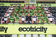 Forest Green Rovers squad photo 2017/18 during the Forest Green Rovers Photocall at the New Lawn, Forest Green, United Kingdom on 31 July 2017. Photo by Shane Healey.