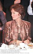 Pat Kavanagh. 1998 Booker Prize. Guildhall, Gresham St. London EC2. 27/10/98. Film 98876f26<br />© Copyright Photograph by Dafydd Jones<br />66 Stockwell Park Rd. London SW9 0DA<br />Tel 0171 733 0108