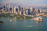 Sydney City Centre, Royal Botanic Gardens, and Opera House