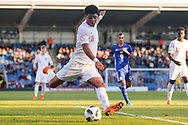 Xavier Amaechi of England (11) during the UEFA European Under 17 Championship 2018 match between England and Israel at Proact Stadium, Whittington Moor, United Kingdom on 4 May 2018. Picture by Mick Haynes.