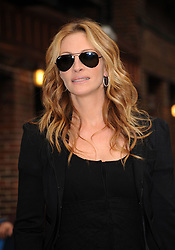 June 9 2009, New York City Actress Julia Roberts made an appearance at the 'Late Show with David Letterman' at the Ed Sullivan Theatre on June 9 2009 in New York City  (Credit Image: © Sharkpixs/ZUMA Press)