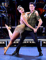 Karen Clifton and Gorka Marque attending the Strictly Come Dancing Professionals UK Tour at Elstree Studios, London.