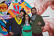 ZOSEN; NILI ZADOK; EVER ( NICOLAS ROMARO ) , Steve Lazarides and Pepsi host a collaboration of Street Art, Photography and Football. Photos of footballers by Danny Clinch, paintings by 6 'leading street artists' Victoria House, Southampton Row. London. 17 February 2014.