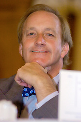 Neil Hamilton attends The Sheffield Telegraphs Literary Lunch at the Royal Victoria Hotel on 22nd September 2005 while promoting Christines Great British Battle Axes and FOR BETTER FOR WORSE: Her Story<br /> <br /> 22 September 2005<br /> <br /> Image Copyright Paul David Drabble<br /> 07831 853913<br /> www.pauldaviddrabble.co.uk