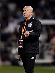 DOHA, April 30, 2017  Manuel Jesualdo Ferrira, head coach of Al Sadd reacts during the Qatar Cup football final against El Jaish at the Al Sadd Stadium in Doha, capital of Qatar on April 29, 2017. Al Sadd claimed the title with 2-1.  wll) (Credit Image: © Nikku/Xinhua via ZUMA Wire)