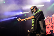 Photos of rapper Snoop Dogg performing at Catalpa Music Festival on Randall's Island, NYC. July 29, 2012. Copyright © 2012 Matthew Eisman. All Rights Reserved.